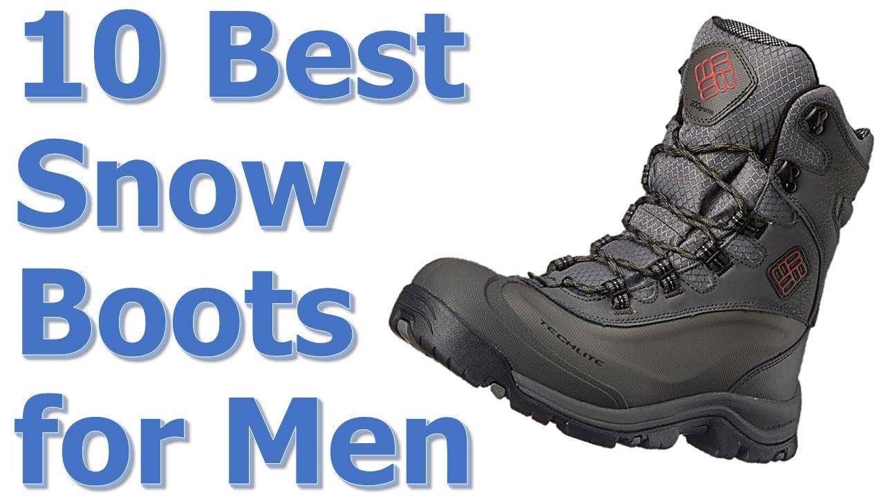 a161975dcd1 Top 10 Best Snow Boots for Men