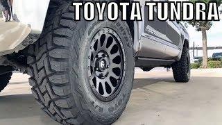 "TOYOTA TUNDRA 2018 - Spacer Leveling Lift Kit BMC 35"" Tires"