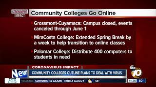 San Diego-area community colleges outline plans to deal with virus
