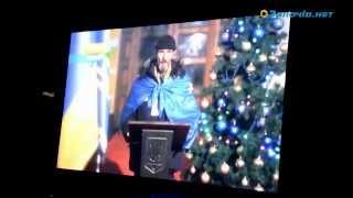 У Новорічну ніч біля ялинки золочів'янам транслювали Євромайдан