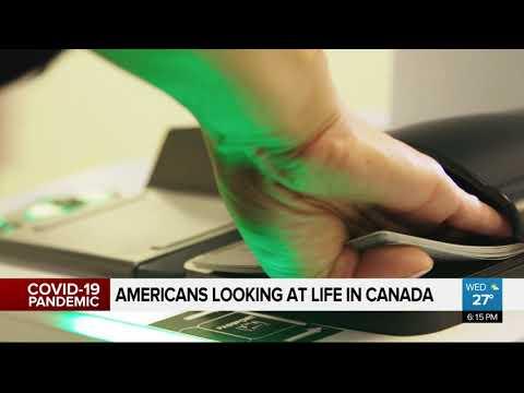 Americans Moving To Canada To Escape COVID-19