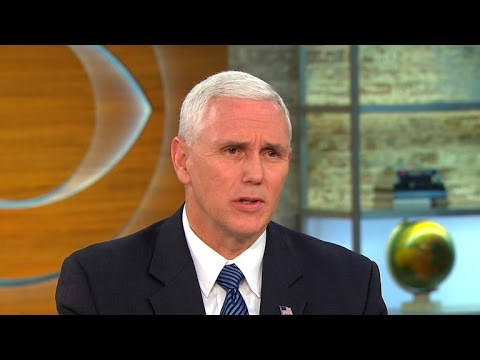 "Pence: ""I don't understand"" basis of Michelle Obama's condemnation of Trump"