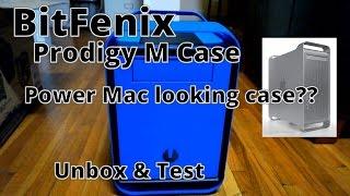 BitFenix Prodigy M Micro ATX/Mini ITX Case Unbox