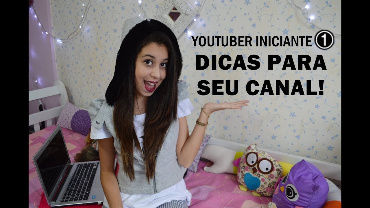 Rayra Fortunato ~  Youtuber Iniciante #1 10 Dicas Essenciais YouTube