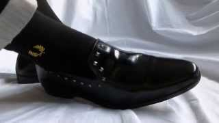 Asos Stud Loafers And Smooth Black Socks