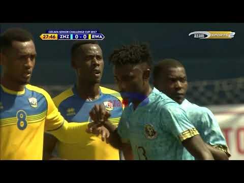 Azam TV - CECAFA: ZANZIBAR VS RWANDA (3-1) FULL HIGHLIGHTS (5/12/2017)