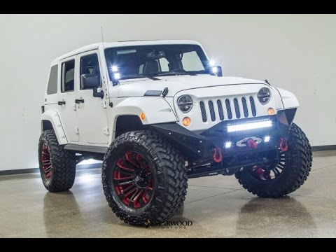 2015 Jeep Wrangler Unlimited Lifted Kevlar Coated Fastback