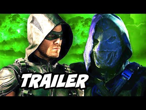 Arrow Season 5 Episode 6 Prometheus Trailer Human Target and Talia Al Ghul