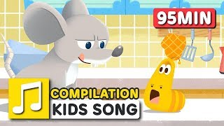 THE GREETINGS SONG COMPILATION | LARVA KIDS | BEST SONGS FOR KIDS