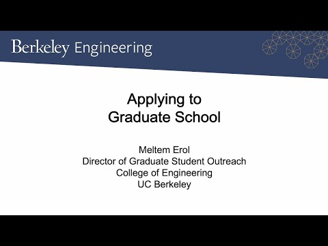 Demystifying the Graduate School Process