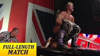 FULL-LENGTH MATCH - Raw - Shawn Michaels vs. Chris Jericho - Last Man Standing Match