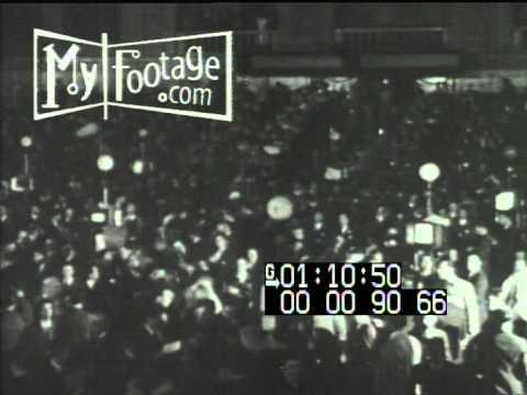 Stock Footage - Stock Market Crash of 1929; Start of Great Depression
