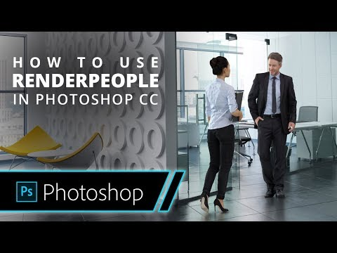 How to use 3D People in Photoshop CC? | RENDERPEOPLE