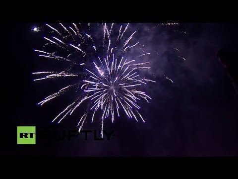 LIVE: Fireworks in Sevastopol to mark Crimea's reunification with Russia