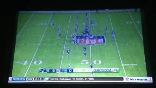 Giants Vs Patriots preseason 2016 commercial break 3