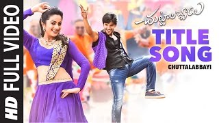 Chuttalabbayi Songs || Chuttalabbayi Full Video Song || Aadi, Namitha Pramodh ||  SS Thaman