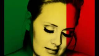 adele set fire to the rain vers��o reggae