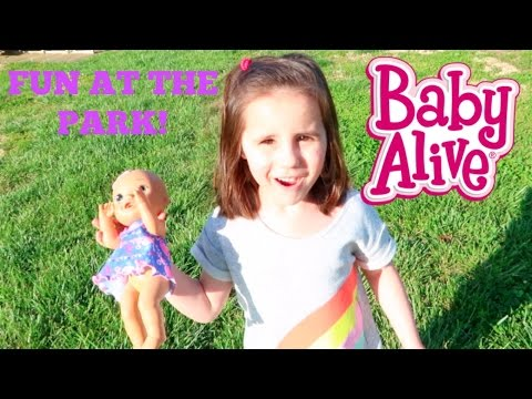 Thumbnail: Baby Alive Plays at the Park!