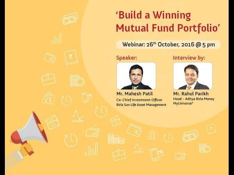 Build a Winning Mutual Fund Portfolio