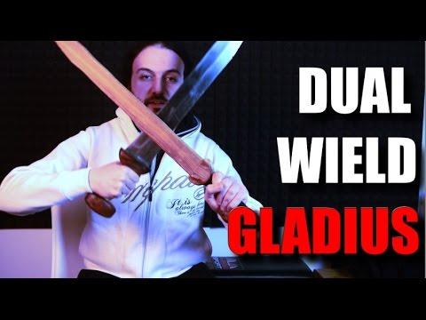 Dual Wielding Gladius? A Historical Real Roman Discipline