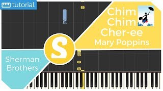 How to play CHIM CHIM CHER-EE from Mary Poppins | Smart Kids Piano | Kids Piano Tutorials