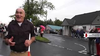 Ballyquin Loyal Sons of Ulster, Angel Japanese Akita Dog @ Pride of Orange & Blue Parade