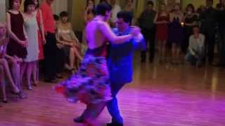 Carlos Rodriguez y Brigita Urbietyte, TangoPonte Festival Saratov, 2014, Improvisando Tango 1