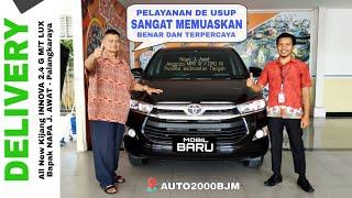 Delivery Mobil Bapak NAPA J. AWAT Anggota MPR RI / DPD RI Kalteng - Toyota Palangkaraya