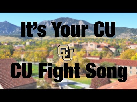 It's Your CU: Learn CU Fight Song