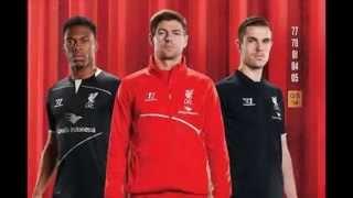 Liverpool New Training Kit 2014/15 Garuda Indonesia