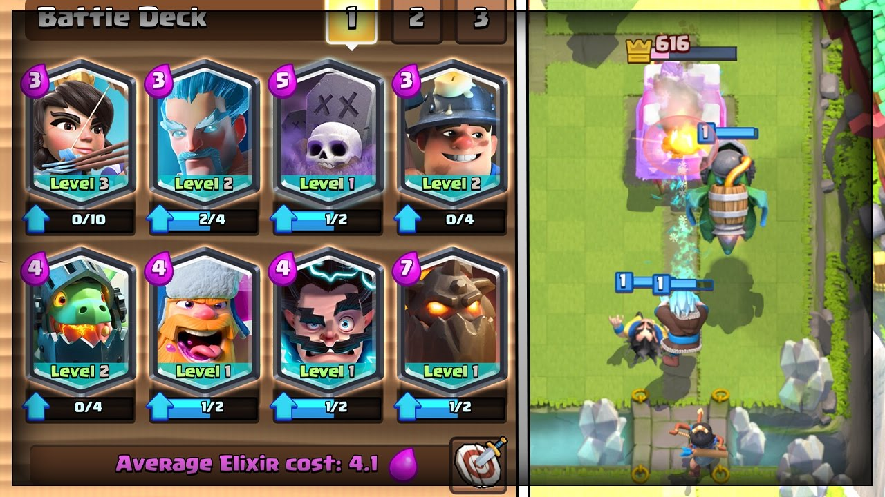 All Legendary Deck In Legendary Arena 10 In Clash Royale