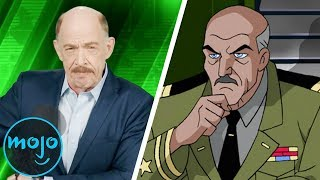 Top 10 Actors Who Appeared in Both Marvel and DC Animated Shows