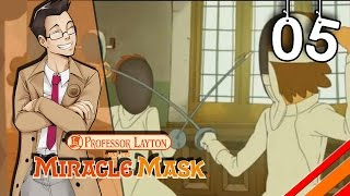 """Professor Layton and the Miracle Mask 