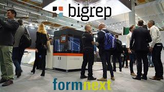 BigRep at Formnext 2019
