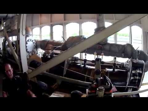 Watch Antique Riverboat Steam Engine in action!