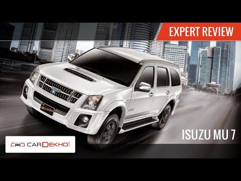 2015 Isuzu MU-7 AT   Exclusive Review   CarDekho.com