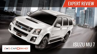 2015 Isuzu MU-7 AT | Exclusive Review | CarDekho.com