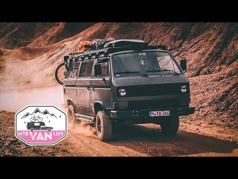 UNSTOPPABLE  MOUNTAINBIKE  VAN  |  VW T3 Syncro Offroad Camper Von Rob Heran