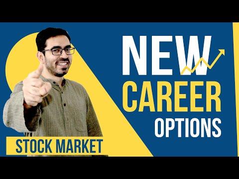 Stock Market है Best Career Option   New Career Options