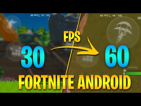 Fortnite Mobile 60 Fps On All Android Devices   100% Working   Proof In The Video   (NO ROOT)