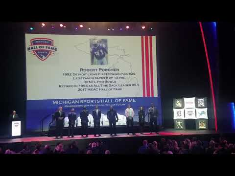 Michigan Sports Hall of Fame Induction in Detroit 2018