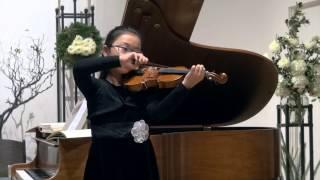 Abigale Wee - Violin - Cello Suite No. 1 Prelude - Bach