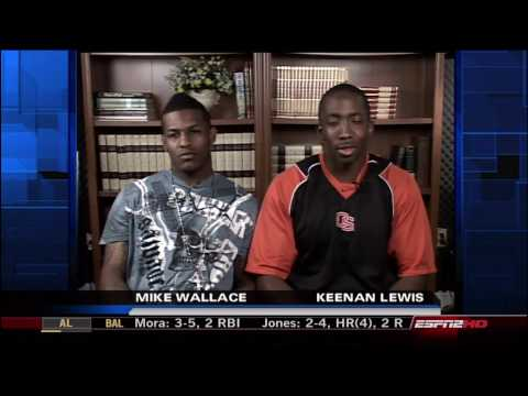 Apr 29 09 - Mike Wallace and Keenan Lewis BFF Rookies Interview