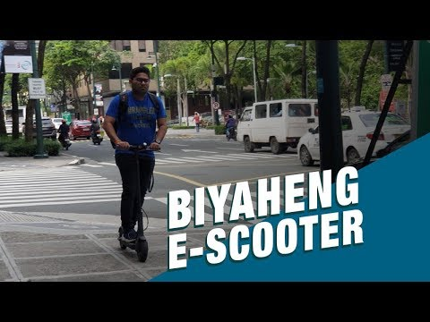 Stand for Truth: Electric Kick Scooters, sagot nga ba sa matinding traffic?