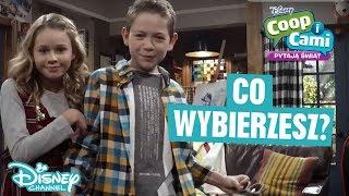 Co by tu wybrać? | Coop i Cami pytają świat | Disney Channel Polska