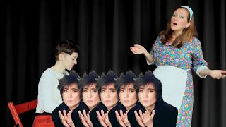 Курс вокала. Видеоуроки. Занятие #8: поем с актерской подачей или Кавер от тёти Нюры.