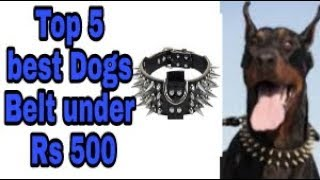 5 dogs Belt under 500 Rs  || link in discription ||