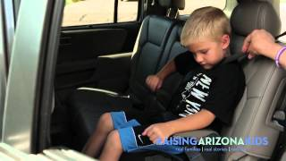 Correcting the booster seat mistakes kids make
