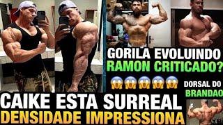 CAIKE INSANO (ELE NÃO PARA DE EVOLUIR) - GORILA MOSTRA SHAPE COMPLETO - RAMON RESPONDE CRITICAS