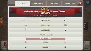 Highligt 452: SAIGON #TOP# vs SUPER CLANS P2